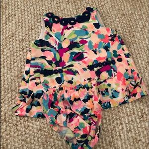 Lily Pulitzer dress and bloomer set